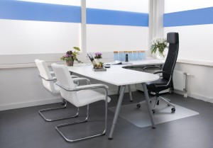 A clean office has a great impact on first impressions.