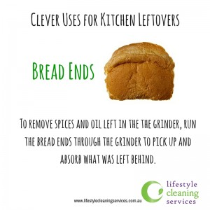 Leftovers? Don't throw them out! There's good thing in everything.