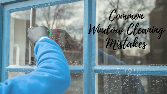 Common Window Cleaning Mistake